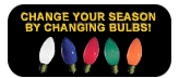 Change the bulb colors per season