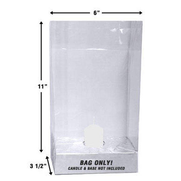 Clear Luminary Bag